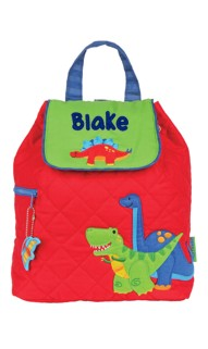 Dino Quilted Backpack