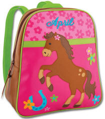 Girl Horse Backpack