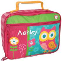 Girls Teal Owl Lunch Box