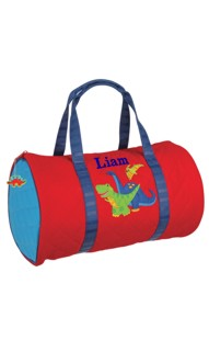 Quilted Dino duffle Bag