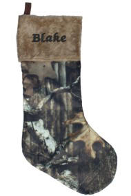 20 in.Mossy Oak Camo Stocking