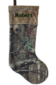 26 inch Mossy Oak Camo Stocking