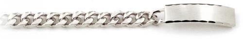Speidel Men's White ID Bracelet