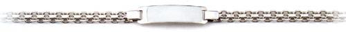 Ladies Sterling Silver ID Bracelet
