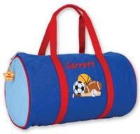 Sports Quilted Duffle