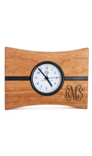 Wide Turning Time Mantle Clock