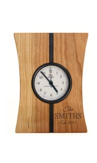 Tall Turning Time Mantel Clock
