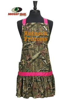 Ladies Mossy Oak Camo Apron