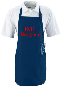 Personalized Full Length Twill Apron